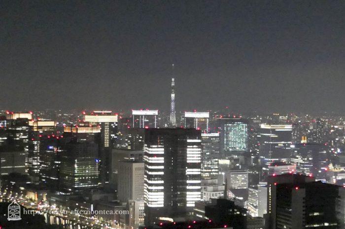 外の景色[アンダーズ・タヴァン・ラウンジ&バー/アンダーズ東京]