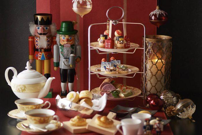 【シャングリ・ラ ホテル 】ロビーラウンジでクリスマス アフタヌーンティー